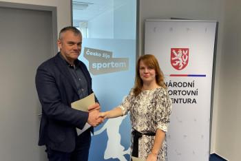 Ředitelkou Antidopingového výboru České republiky je Petra Volková