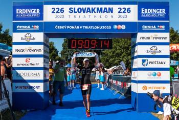 České tituly v dlouhém triatlonu získali rekordní Tomáš Řenč a Simona Křivánková