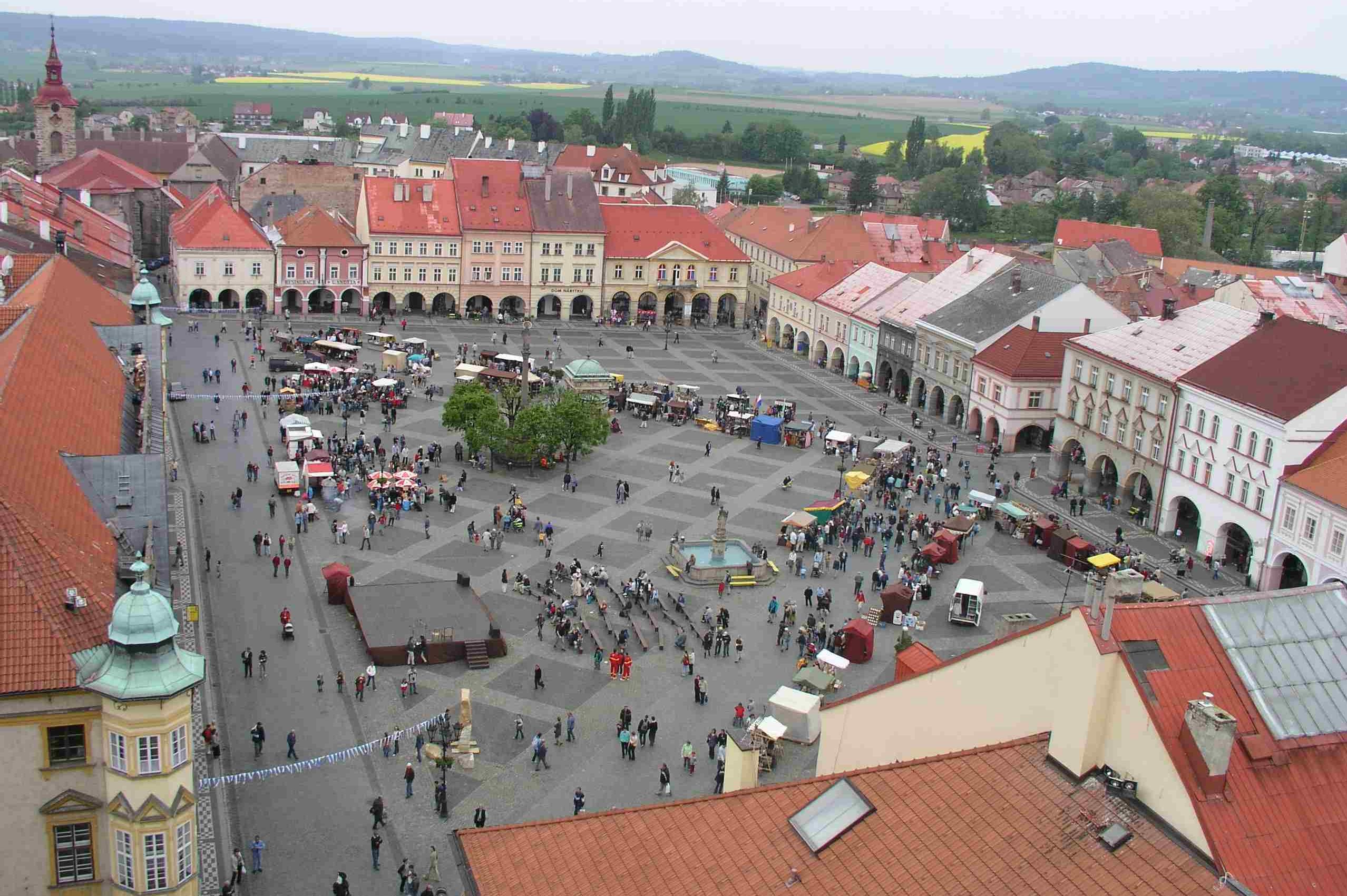 Jičín se uchází o lavičku Václava Havla