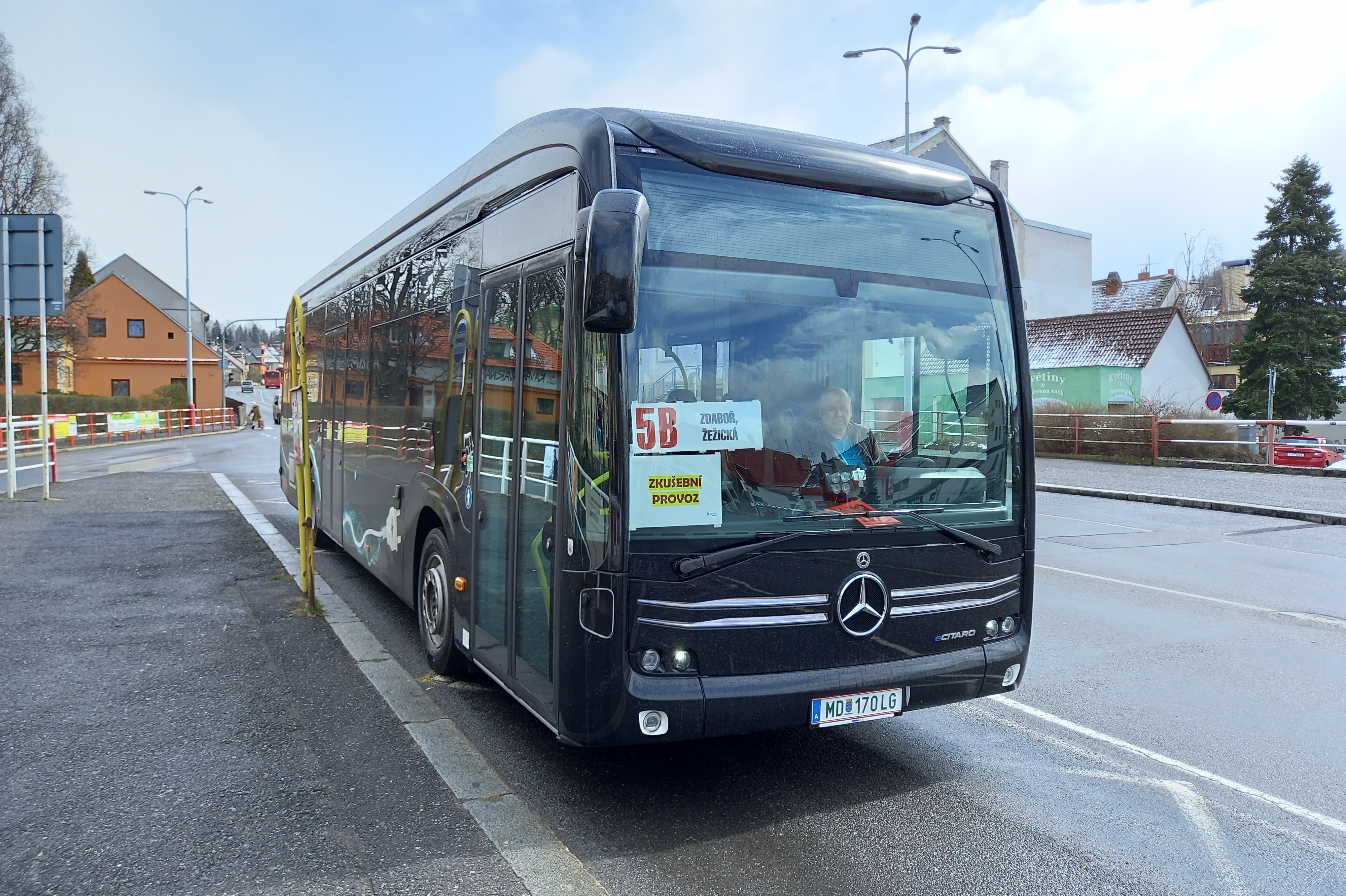 V Příbrami cestující otestují nový elekrobus