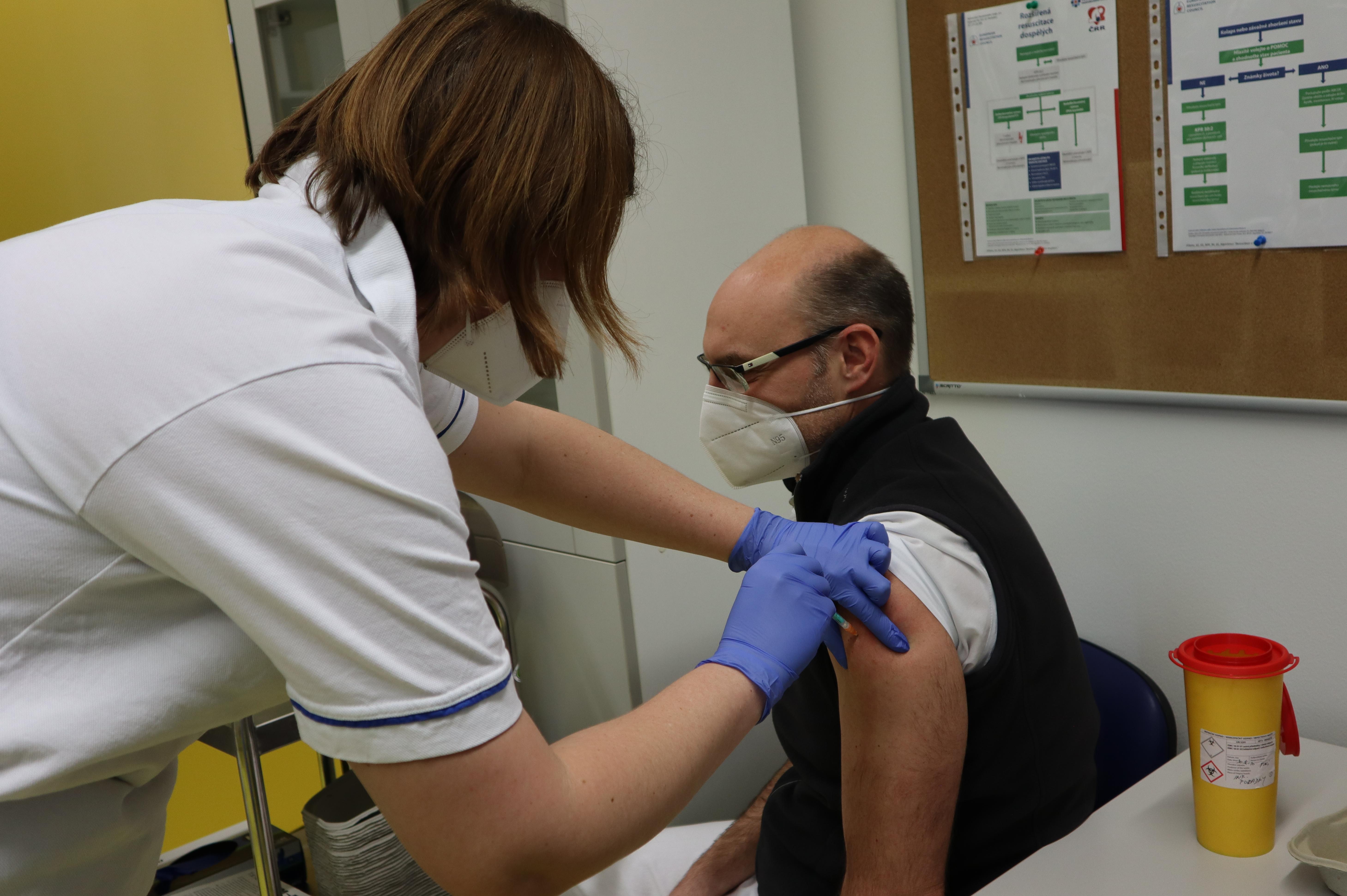 Cílem je až přes 21 tisíc očkovaných týdně v kraji