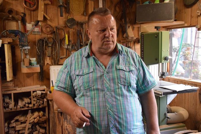 Bednář Miroslav Vrtěna je Nositel tradice lidových řemesel