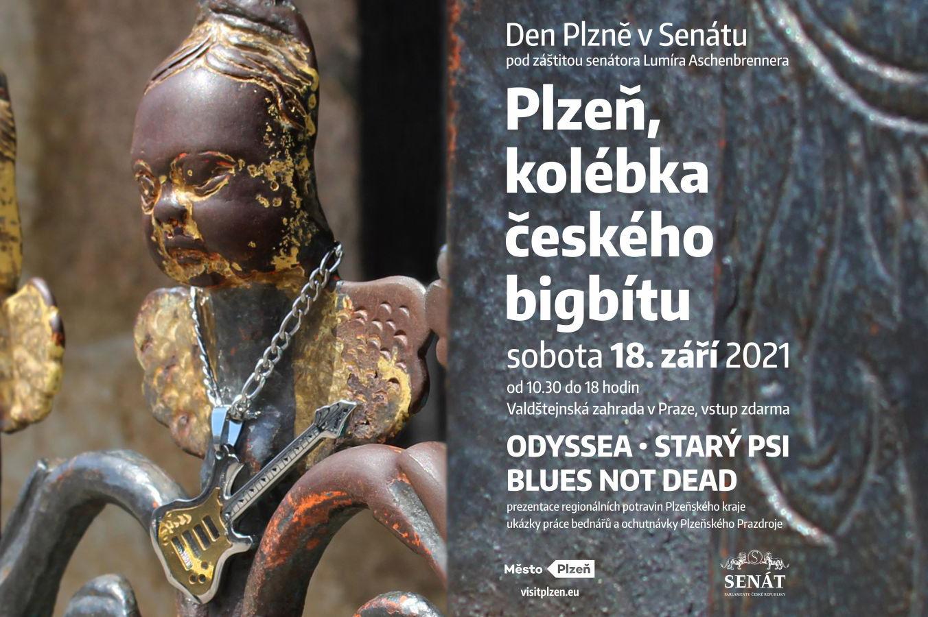 Plzeň se představí v Praze jako město českého bigbítu