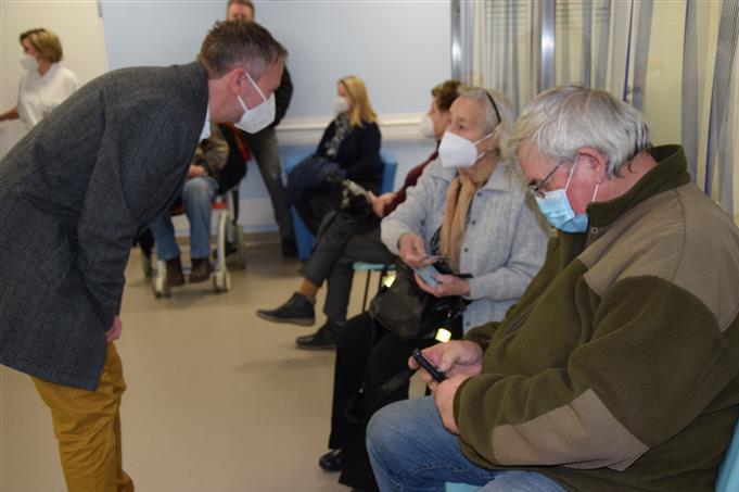 Na Vysočině začalo očkování seniorů starších 80 let