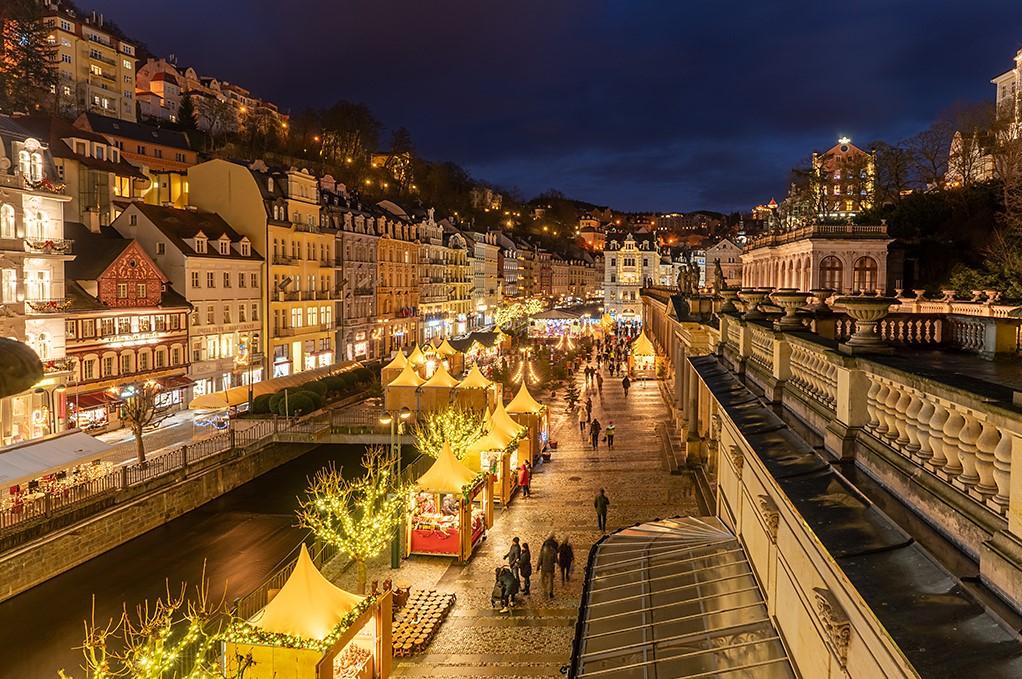 Karlovy Vary se připravují na advent