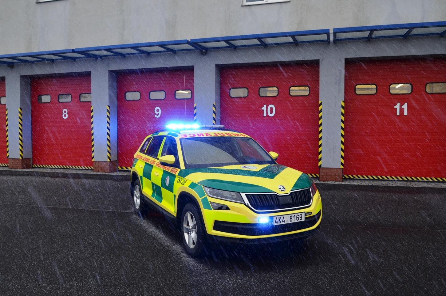 Výstavba výjezdové základny Zdravotnické záchranné služby