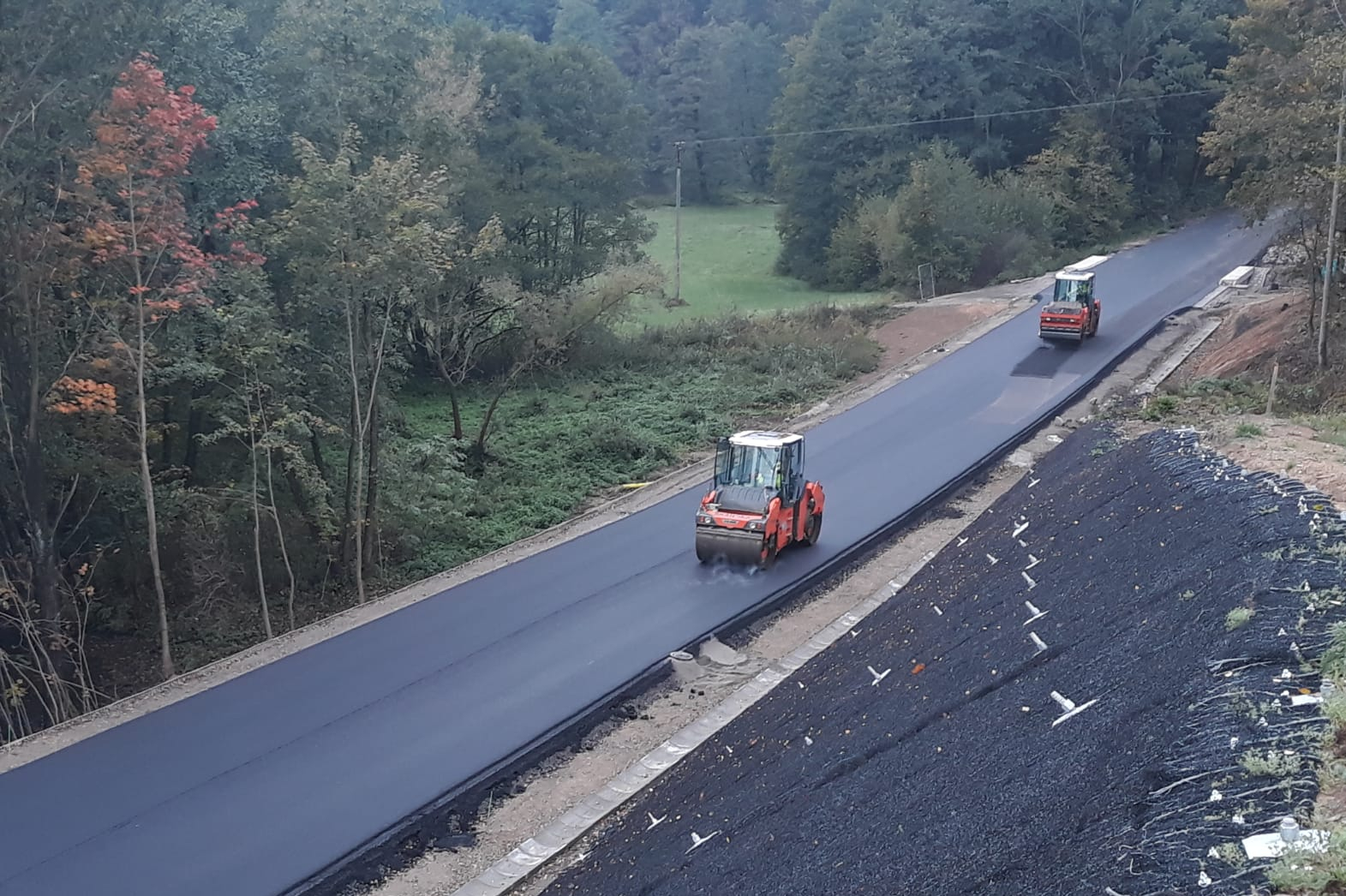Opravy a výstavba silnic na Vysočině v roce 2020