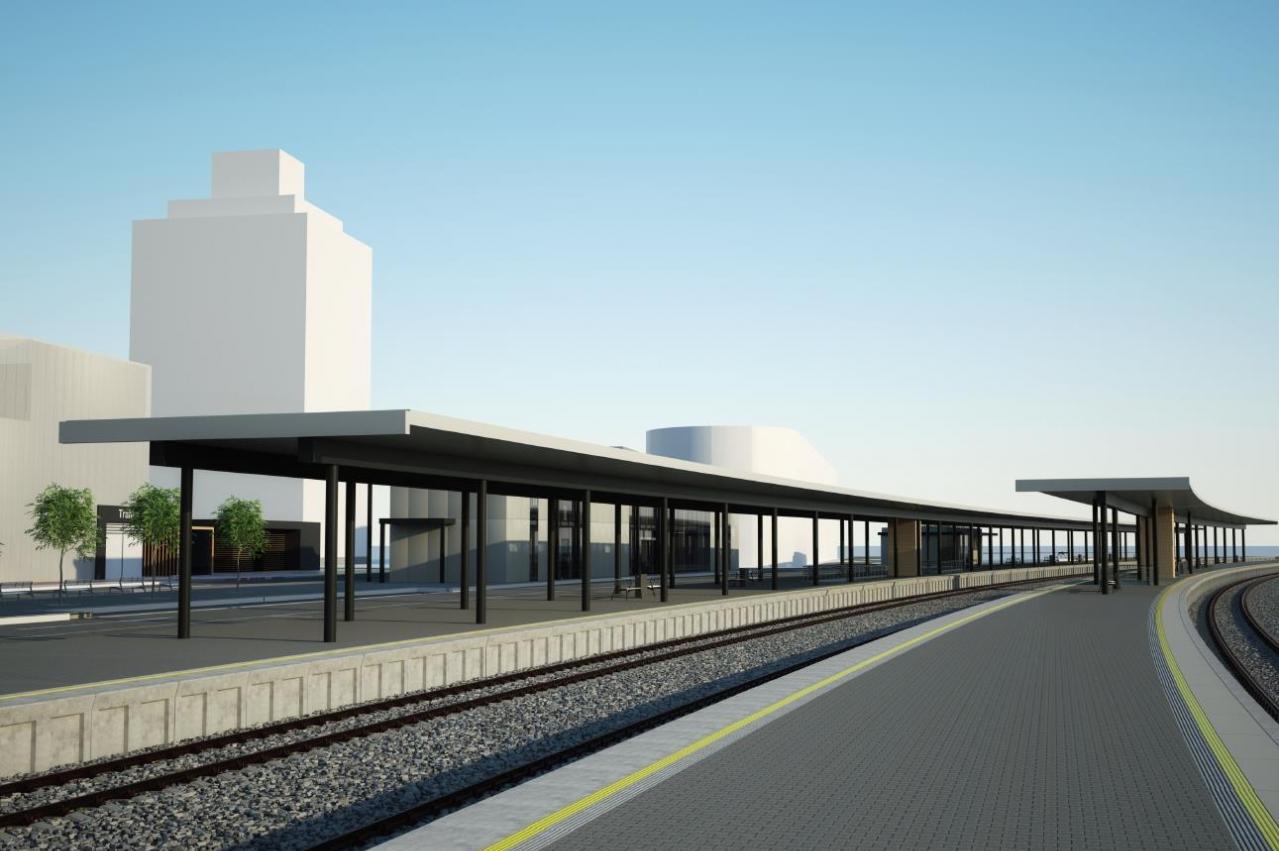Vsetín se chystá na zahájení přestavby vlakového nádraží